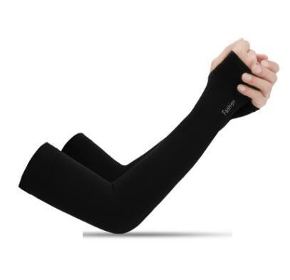 Anti-UV Ice Silk Gloves Sports & Outdoors / Cycling / Cycling Jerseys - shop in usa - canada - UK - Spain - France - Germany - Netherlands - Sweden - Black Onesize Q1pcs