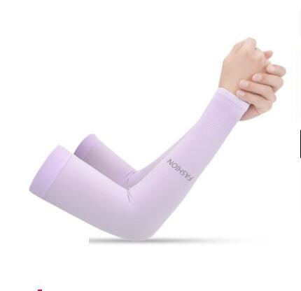 Anti-UV Ice Silk Gloves Sports & Outdoors / Cycling / Cycling Jerseys - shop in usa - canada - UK - Spain - France - Germany - Netherlands - Sweden - No Fingers purple Onesize Q2pcs