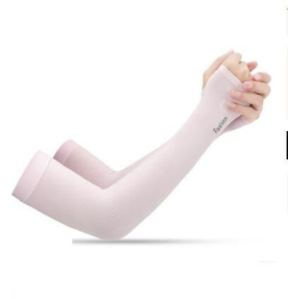 Anti-UV Ice Silk Gloves Sports & Outdoors / Cycling / Cycling Jerseys - shop in usa - canada - UK - Spain - France - Germany - Netherlands - Sweden - Pink Onesize Q2pcs