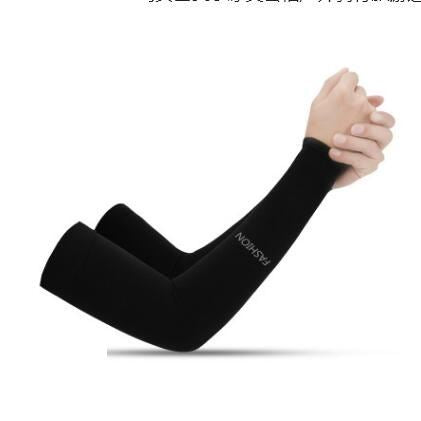 Anti-UV Ice Silk Gloves Sports & Outdoors / Cycling / Cycling Jerseys - shop in usa - canada - UK - Spain - France - Germany - Netherlands - Sweden - No Fingers Black Onesize Q1pcs