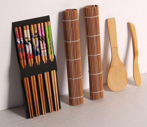 Bamboo Sushi Making Kit Home & Garden, Furniture / Kitchen, Dining & Bar / Dinnerware - shop in usa - canada - UK - Spain - France - Germany - Netherlands - Sweden -