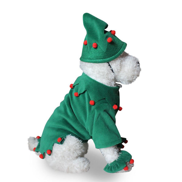 Christmas & Halloween pet costumes Pets - shop in usa - canada - UK - Spain - France - Germany - Netherlands - Sweden - Christmas set S