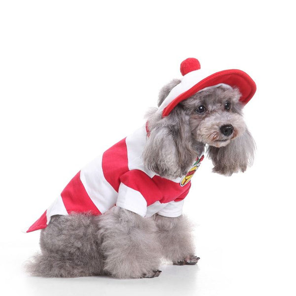 Christmas & Halloween pet costumes Pets - shop in usa - canada - UK - Spain - France - Germany - Netherlands - Sweden - Baby suit S