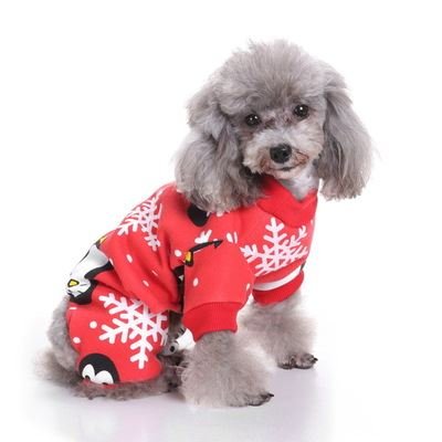 Christmas & Halloween pet costumes Pets - shop in usa - canada - UK - Spain - France - Germany - Netherlands - Sweden - Christmas penguin S