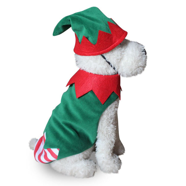 Christmas & Halloween pet costumes Pets - shop in usa - canada - UK - Spain - France - Germany - Netherlands - Sweden - Christmas clown M