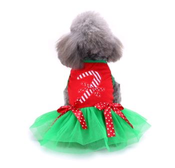 Christmas & Halloween pet costumes Pets - shop in usa - canada - UK - Spain - France - Germany - Netherlands - Sweden - Christmas dress L