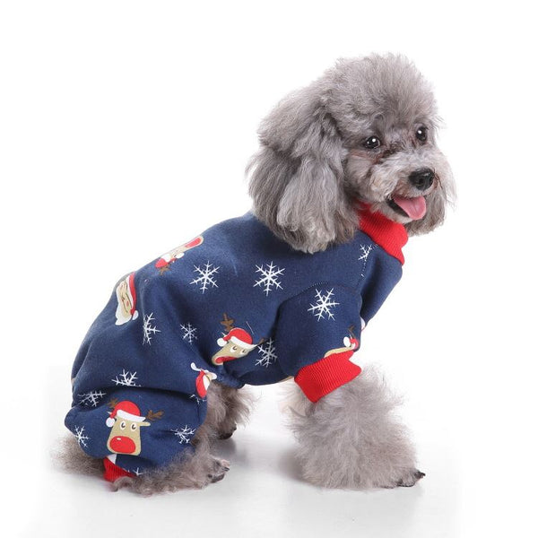 Christmas & Halloween pet costumes Pets - shop in usa - canada - UK - Spain - France - Germany - Netherlands - Sweden - Old man snowflake L