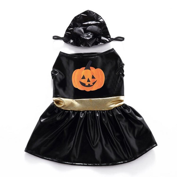 Christmas & Halloween pet costumes Pets - shop in usa - canada - UK - Spain - France - Germany - Netherlands - Sweden - Pumpkin skirt set M