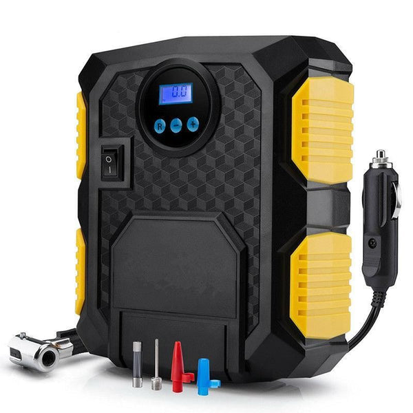 Digital Tire Inflator DC 12 Volt Car Portable Air Compressor Automobiles & Motorcycles / Auto Replacement Parts / Exterior Parts - shop in usa - canada - UK - Spain - France - Germany - Netherlands - Sweden - Digital Tire Inflator - DC 12 Volt Car Portable Air Compressor