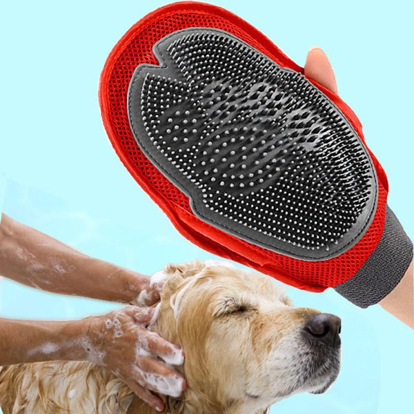 Dog fur Grooming Glove Mitt Brush Home & Garden, Furniture / Pet Products / Dog Supplies - shop in usa - canada - UK - Spain - France - Germany - Netherlands - Sweden -
