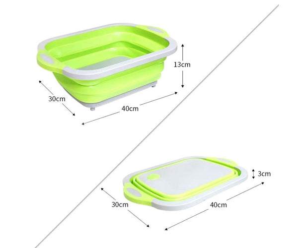Foldable Multi-Function Chopping Board Phones & Accessories / Mobile Phone Accessories / Chargers - shop in usa - canada - UK - Spain - France - Germany - Netherlands - Sweden - Green
