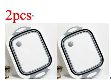 Foldable Multi-Function Chopping Board Phones & Accessories / Mobile Phone Accessories / Chargers - shop in usa - canada - UK - Spain - France - Germany - Netherlands - Sweden - Gray 2pcs