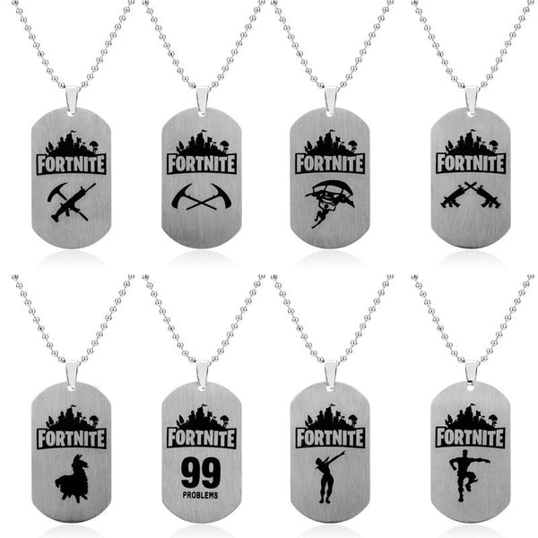 Fortnite Fortress Night Necklace Jewelry & Watches / Fashion Jewelry / Charms - shop in usa - canada - UK - Spain - France - Germany - Netherlands - Sweden -