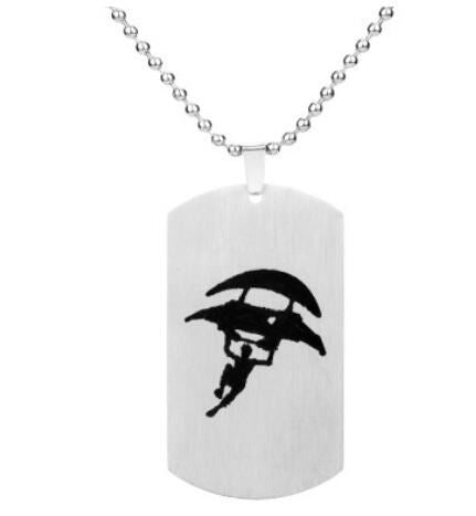 Fortnite Fortress Night Necklace Jewelry & Watches / Fashion Jewelry / Charms - shop in usa - canada - UK - Spain - France - Germany - Netherlands - Sweden - Silver 09