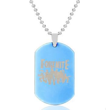 Fortnite Fortress Night Necklace Jewelry & Watches / Fashion Jewelry / Charms - shop in usa - canada - UK - Spain - France - Germany - Netherlands - Sweden - Blue 1