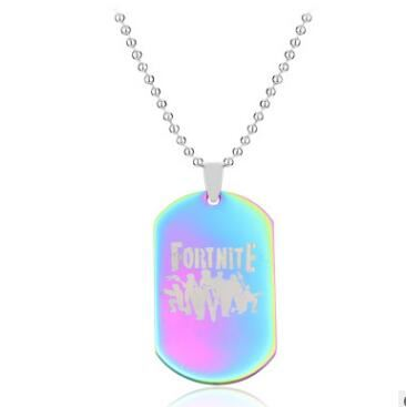 Fortnite Fortress Night Necklace Jewelry & Watches / Fashion Jewelry / Charms - shop in usa - canada - UK - Spain - France - Germany - Netherlands - Sweden - Three colors 1