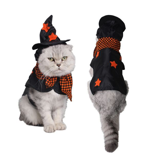 Funny Halloween Cat Costume Others - shop in usa - canada - UK - Spain - France - Germany - Netherlands - Sweden -