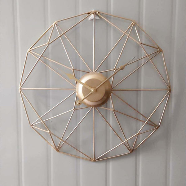 geometrix clock wall Others - shop in usa - canada - UK - Spain - France - Germany - Netherlands - Sweden - Gold