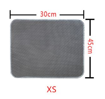 Honeycomb Double Layer Cat Litter Trapper Mats Home & Garden, Furniture / Pet Products / Cat Supplies - shop in usa - canada - UK - Spain - France - Germany - Netherlands - Sweden - XS Grey