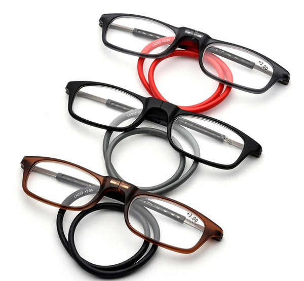 Magnetic reading glasses Men's Clothing / Accessories / Prescription Glasses - shop in usa - canada - UK - Spain - France - Germany - Netherlands - Sweden -
