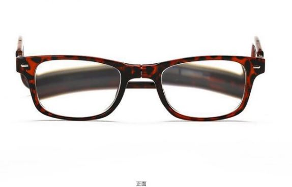 Magnetic reading glasses Men's Clothing / Accessories / Prescription Glasses - shop in usa - canada - UK - Spain - France - Germany - Netherlands - Sweden - 350 Leopard