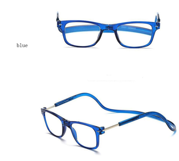 Magnetic reading glasses Men's Clothing / Accessories / Prescription Glasses - shop in usa - canada - UK - Spain - France - Germany - Netherlands - Sweden - 250 Blue