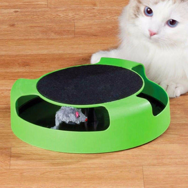 Mouse Motion Chase Toy with Scratch Pad Home & Garden, Furniture / Pet Products / Cat Supplies - shop in usa - canada - UK - Spain - France - Germany - Netherlands - Sweden -