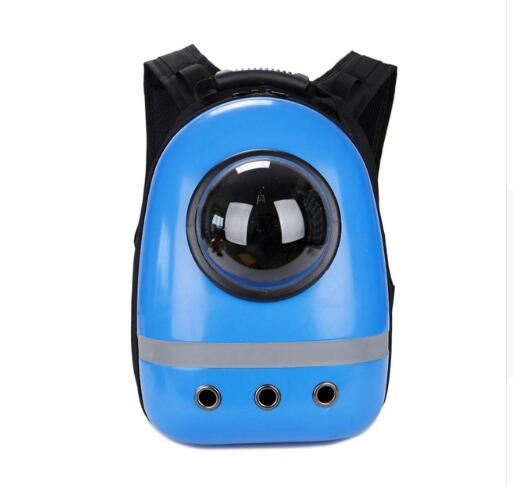 Pet Space Capsule Backpack Home & Garden, Furniture / Pet Products / Cat Supplies - shop in usa - canada - UK - Spain - France - Germany - Netherlands - Sweden - Blue