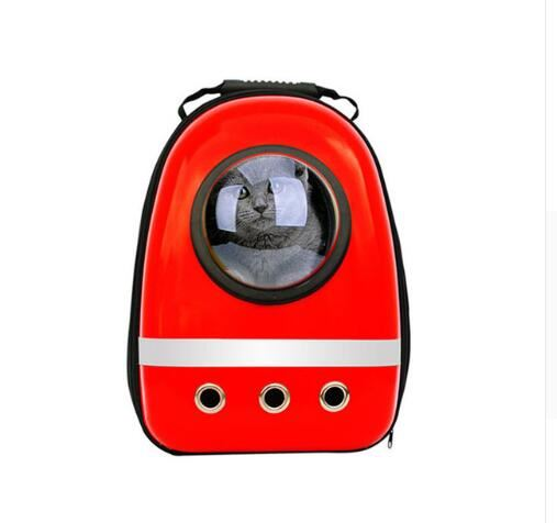 Pet Space Capsule Backpack Home & Garden, Furniture / Pet Products / Cat Supplies - shop in usa - canada - UK - Spain - France - Germany - Netherlands - Sweden - Red