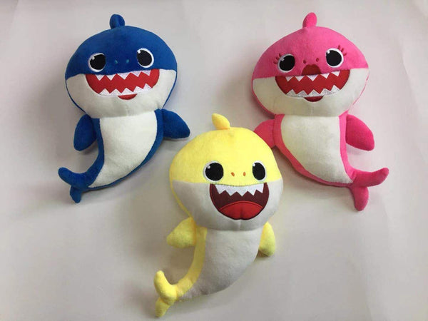 Plush Toys Will Sing Shark Baby Glow Toys, Kids & Baby / Toys & Hobbies / Stuffed & Plush Animals - shop in usa - canada - UK - Spain - France - Germany - Netherlands - Sweden -