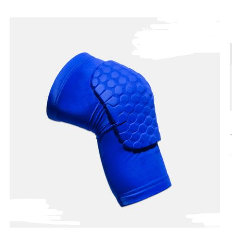 Protective Sports Knee Pad Men's Clothing / Accessories / Socks - shop in usa - canada - UK - Spain - France - Germany - Netherlands - Sweden - Blue Short M One