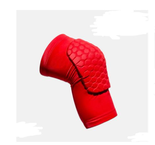 Protective Sports Knee Pad Men's Clothing / Accessories / Socks - shop in usa - canada - UK - Spain - France - Germany - Netherlands - Sweden - Red Short XL a pair