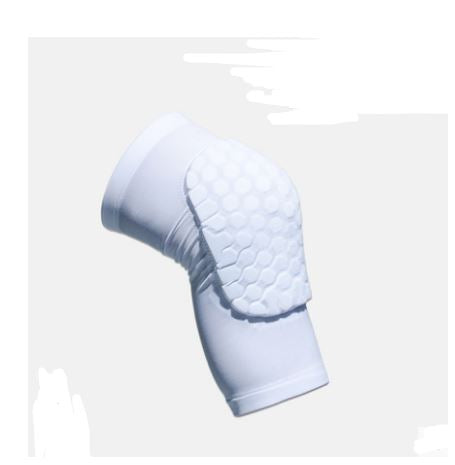 Protective Sports Knee Pad Men's Clothing / Accessories / Socks - shop in usa - canada - UK - Spain - France - Germany - Netherlands - Sweden - White Short XL a pair
