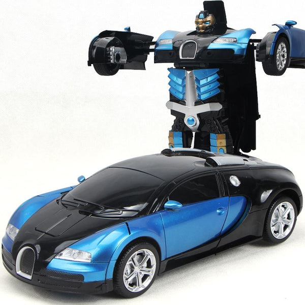 Remote Control 1:14 Bugatti Robot Car Toys, Kids & Baby / Toys & Hobbies / Action & Toy Figures - shop in usa - canada - UK - Spain - France - Germany - Netherlands - Sweden - Blue