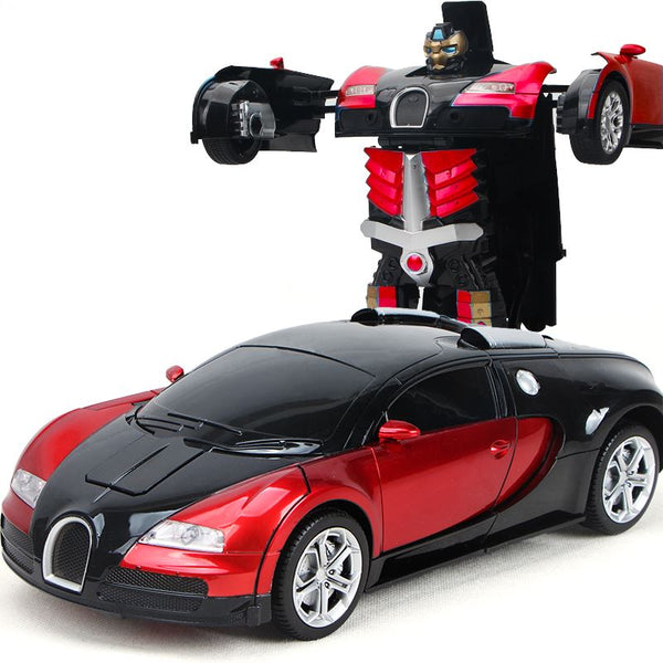 Remote Control 1:14 Bugatti Robot Car Toys, Kids & Baby / Toys & Hobbies / Action & Toy Figures - shop in usa - canada - UK - Spain - France - Germany - Netherlands - Sweden - Red