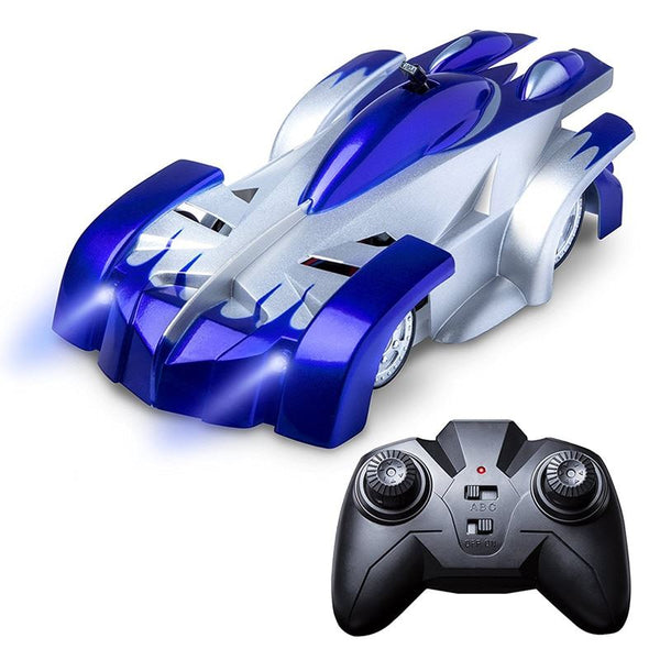 Remote Control Electric Climbing Children's Car Toys, Kids & Baby / Toys & Hobbies / Electronic Pets - shop in usa - canada - UK - Spain - France - Germany - Netherlands - Sweden - Blue