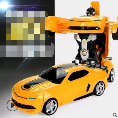 Remote Control Electric Robot Car Toys, Kids & Baby / Toys & Hobbies / Electronic Pets - shop in usa - canada - UK - Spain - France - Germany - Netherlands - Sweden - Bumblebee 32CM