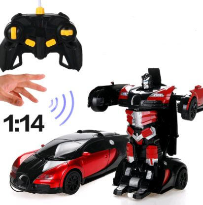 Remote Control Electric Robot Car Toys, Kids & Baby / Toys & Hobbies / Electronic Pets - shop in usa - canada - UK - Spain - France - Germany - Netherlands - Sweden - Red gardi 32CM