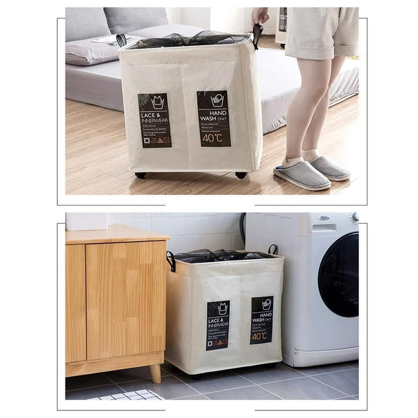 Rolling Wheel Laundry Basket Others - shop in usa - canada - UK - Spain - France - Germany - Netherlands - Sweden -