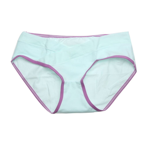Soft Cotton Belly Support Panties for Pregnant Women Women's Clothing / Underwears / Panties - shop in usa - canada - UK - Spain - France - Germany - Netherlands - Sweden - Green L