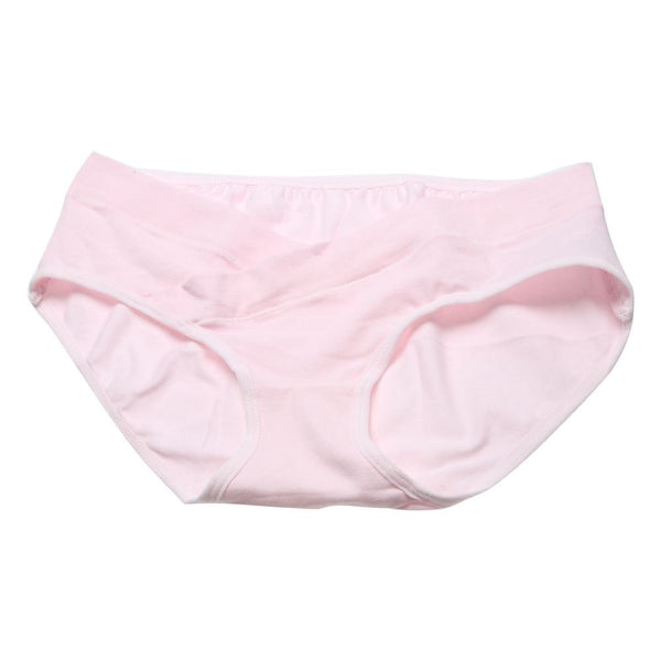Soft Cotton Belly Support Panties for Pregnant Women Women's Clothing / Underwears / Panties - shop in usa - canada - UK - Spain - France - Germany - Netherlands - Sweden - Pink M