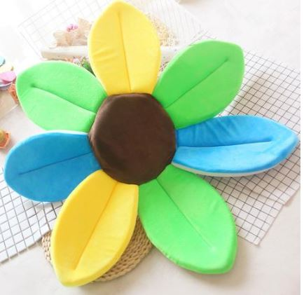 Sun Flower for Baby's Bath Toys, Kids & Baby/Toys & Hobbies/Stuffed & Plush Animals - shop in usa - canada - UK - Spain - France - Germany - Netherlands - Sweden - Mixed color 1