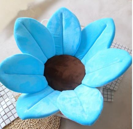 Sun Flower for Baby's Bath Toys, Kids & Baby/Toys & Hobbies/Stuffed & Plush Animals - shop in usa - canada - UK - Spain - France - Germany - Netherlands - Sweden - Sky blue