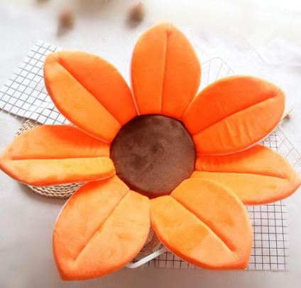 Sun Flower for Baby's Bath Toys, Kids & Baby/Toys & Hobbies/Stuffed & Plush Animals - shop in usa - canada - UK - Spain - France - Germany - Netherlands - Sweden - Orange
