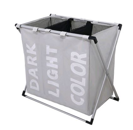 THREE GRID BASKET STORAGE BAG Others - shop in usa - canada - UK - Spain - France - Germany - Netherlands - Sweden - Creamy~white