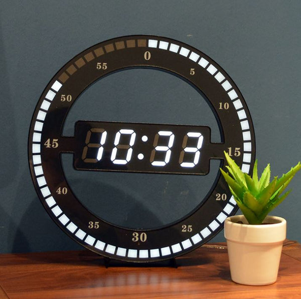 Wall Clock Digital LED Desktop Table Clock Home & Garden, Furniture / Home Storage / Home Office Storage - shop in usa - canada - UK - Spain - France - Germany - Netherlands - Sweden -