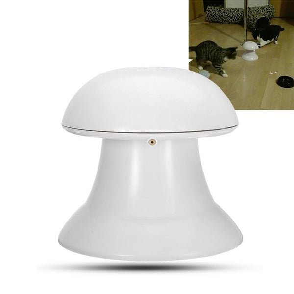 White Interactive Laser Cat Toy Home & Garden, Furniture / Pet Products / Cat Supplies - shop in usa - canada - UK - Spain - France - Germany - Netherlands - Sweden -