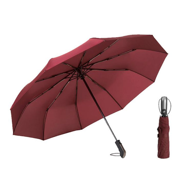 Windproof Travel Umbrella Others - shop in usa - canada - UK - Spain - France - Germany - Netherlands - Sweden - Wine Red