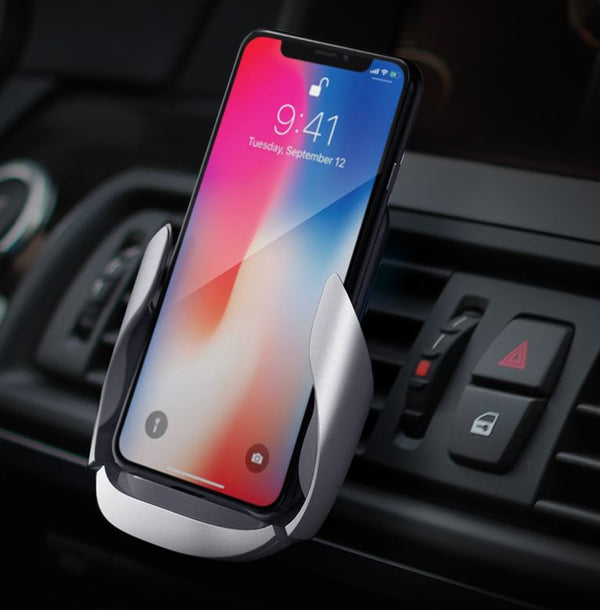 Wireless Charger Car Phone Holder Phones & Accessories / Mobile Phone Accessories / Holders & Stands - shop in usa - canada - UK - Spain - France - Germany - Netherlands - Sweden -