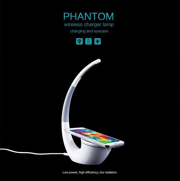 Wireless Charger Phantom Table Lamp Consumer Electronics / Accessories & Parts / Charger - shop in usa - canada - UK - Spain - France - Germany - Netherlands - Sweden -
